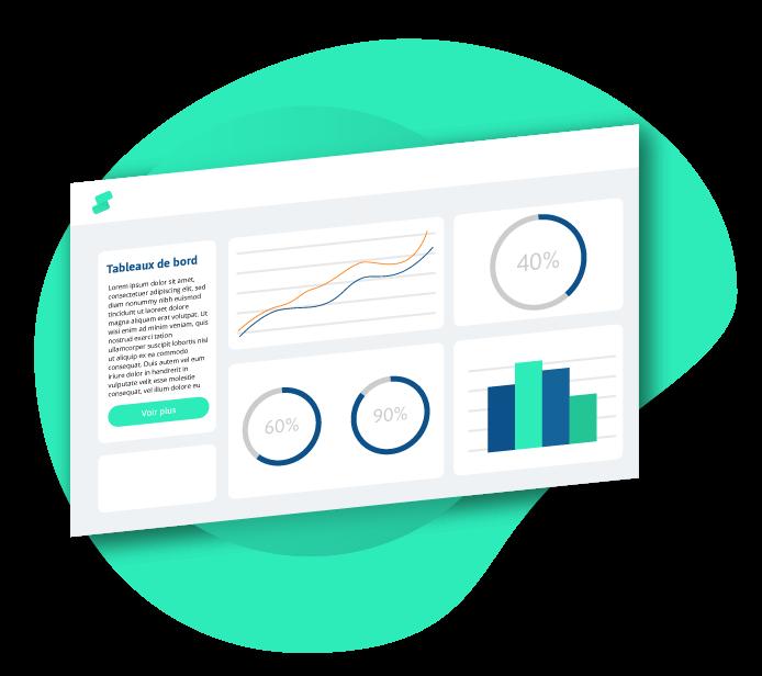 Tableaux de visualisation de vos performances dans Statshop